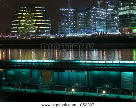 Banks of the River Thames, London