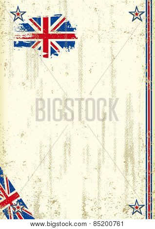 United Kingdom retro background. A vintage english background with a texture for your advertising