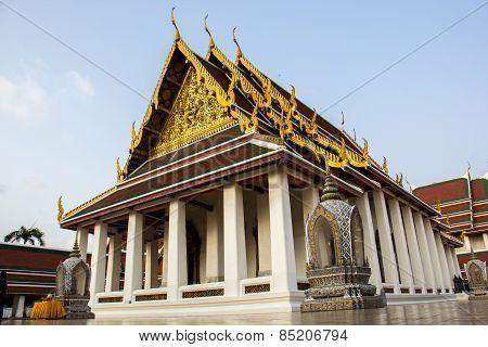 Temple, Thailand, Churches, Pagodas, Golden, Calm Place, Thailand, Beautiful.