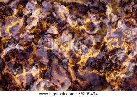 Marble Stone Background Texture, Abstract Mottled Grunge Background Texture With Spotty Pattern Wall