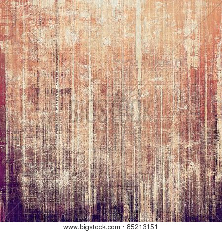 Old abstract grunge background, aged retro texture. With different color patterns: brown; gray; purple (violet); red (orange)