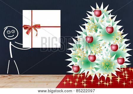 Stick Figure Christmas