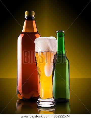 Assortment Beer Bottles