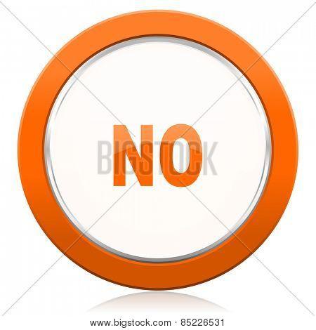 no orange icon