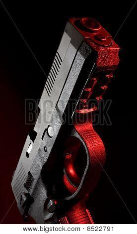 Red Polymer Pistol
