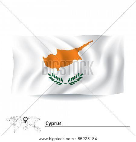 Flag of Cyprus - vector illustration