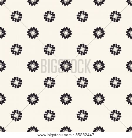 Vector seamless pattern. Floral vintage backgrounds isolated