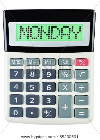 Calculator With Monday