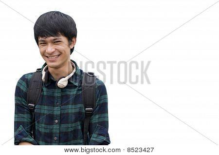 Teenage Student Portrait