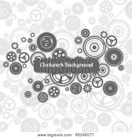 Seamless Gearwheel Mechanism Background