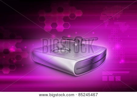 Secure Hard drive