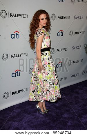 LOS ANGELES - MAR 11:  Holland Roden at the PaleyFEST LA 2015 -