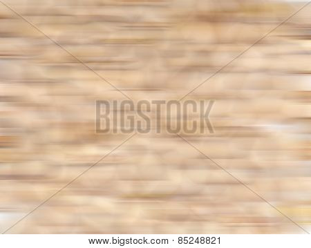 Abstract horizontally blurred background