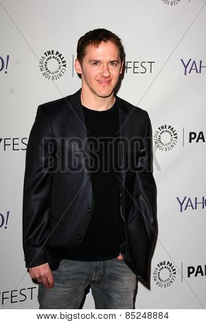 LOS ANGELES - MAR 11:  Jeff Davis at the PaleyFEST LA 2015 -
