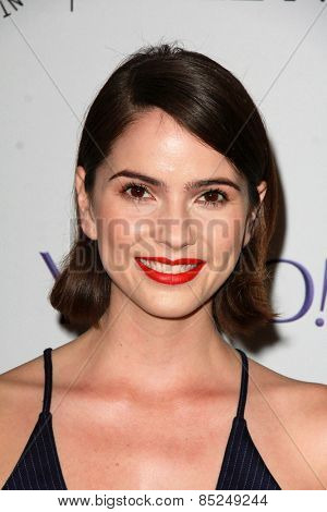 LOS ANGELES - MAR 11:  Shelley Hennig at the PaleyFEST LA 2015 -