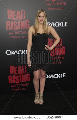 LOS ANGELES - MAR 11:  Naomi Kyle at the