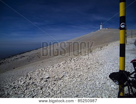 The Mont Ventoux In The French Alpes
