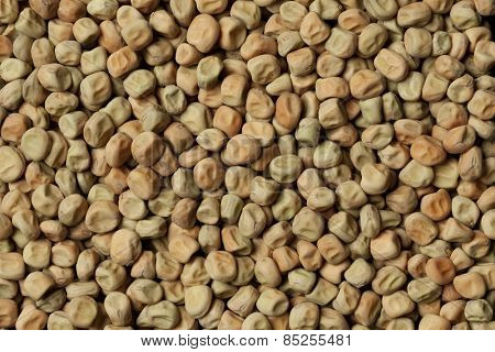 Dried field peas full frame