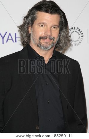 LOS ANGELES - MAR 12:  Ronald D. Moore at the PaleyFEST LA 2015 -