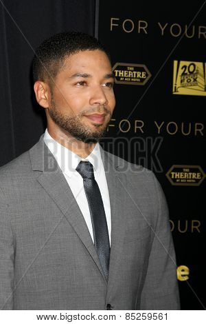 LOS ANGELES - MAR 12:  Jussie Smollett at the