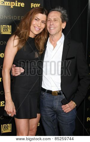 LOS ANGELES - MAR 12:  Veronica Smiley, Brian Grazer at the
