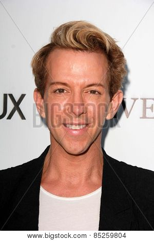 LOS ANGELES - MAR 12:  Derek Warburton at the GENLUX Magazine 10th Anniversary Party at the Eve by Eve's on March 12, 2015 in Beverly Hills, CA