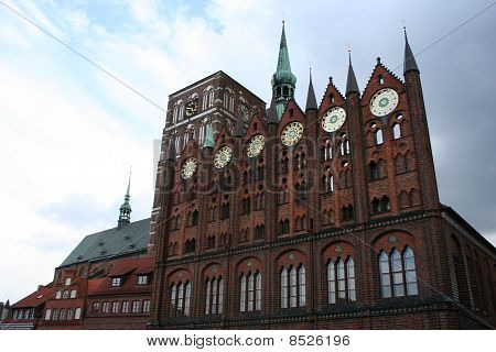Stralsund in Germany