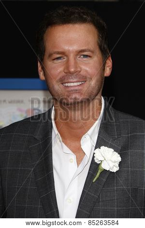 LOS ANGELES - APR 21: Eric Matheny at the premiere of Walt Disney Pictures' 'Prom' at the El Capitan in Los Angeles, California on April 21, 2011.