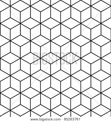 VECTOR SEAMLESS GEOMETRIC PATTERN / BACKGROUND DESIGN. MODERN STYLISH TEXTURE. Repeating and editable tiles with rhombuses. Can be used for prints, textiles, website blogs etc.