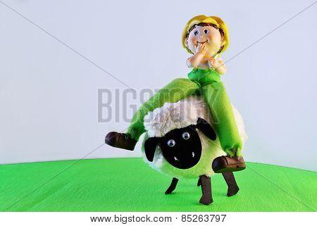 Freddy on the lamb