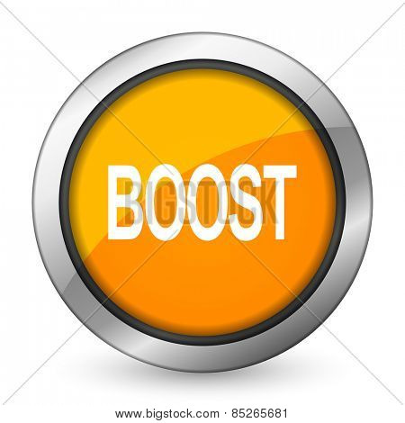 boost orange icon