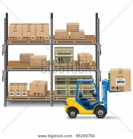 Vector Storage With Forklift