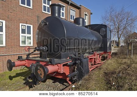 Hamburg - Historical Port Railway (steam Locomotive)
