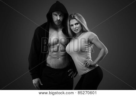 Sexy Pair Of Athletic People