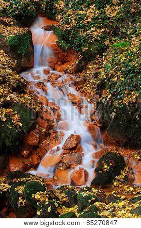 Waterfall in the Czech-Saxony Switzerland