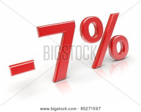 7% Discount