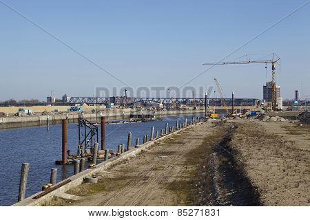 Hamburg (germany) - Building Site Of The Hafencity