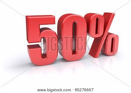 50 Percent Sign