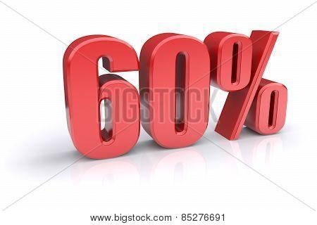 60 Percent Sign