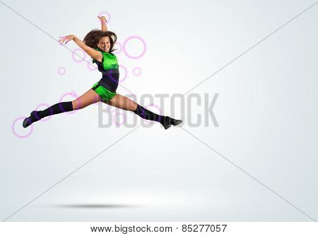 Cheerleader girl