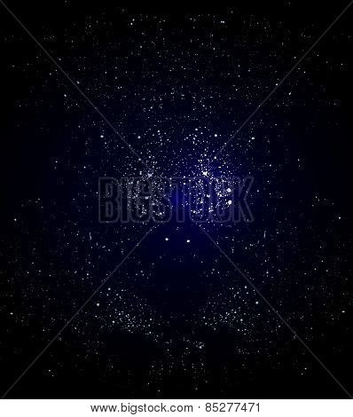 Background Starry Space