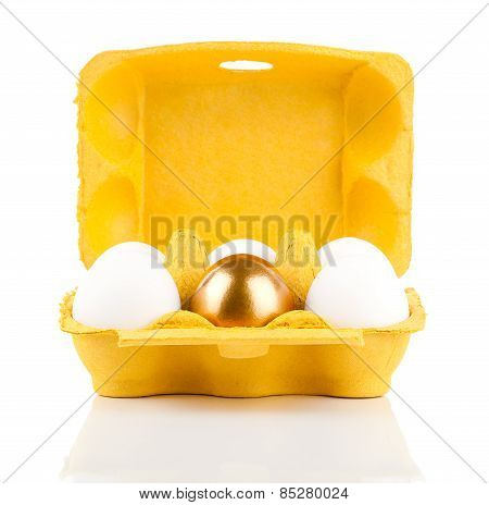 Golden Egg In The Package