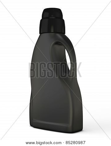 Black Bottle Template For Detergent