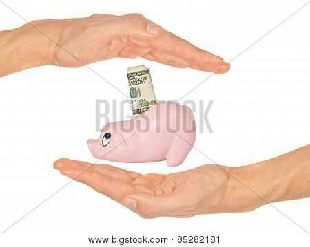 Safety Of Savings Concept