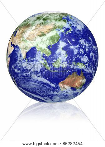 Earth Globe. Elements Of This Image Furnished By Nasa