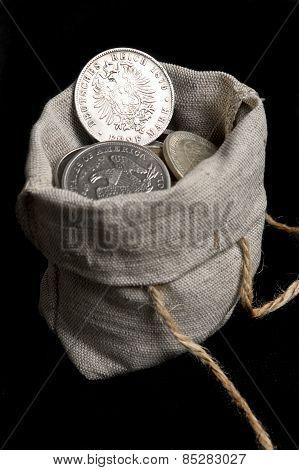 Silver Five Mark Of German Reich