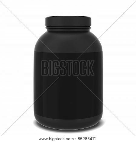 Sport Supplement Jar