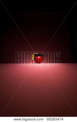 Smart Red Apple
