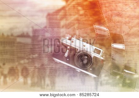 Retro Style Vintage Photo Camera