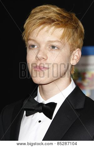 LOS ANGELES - APR 21: Cameron Monaghan at the premiere of Walt Disney Pictures' 'Prom' at the El Capitan in Los Angeles, California on April 21, 2011.